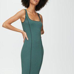 NWT Aritzia Wilfred Emerie Tank Seam Dress Green S